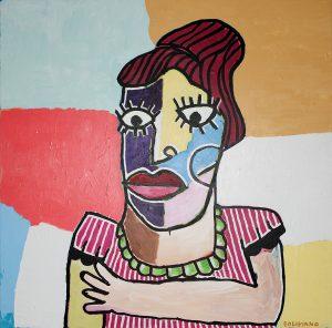 Boliviano | Frau mit rotem Haar 1 2009